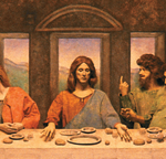 last supper pageant of the masters