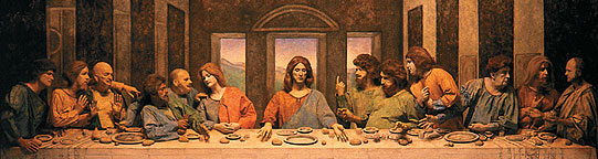 """""""The Last Supper"""" at the Pageant of the Masters"""