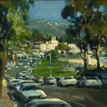 "Ken Auster ""Laguna""oil-on-canvas, c. 1998foapac"