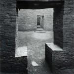 """Robert Hansen, """"Ancient Doorway""""gelatin silver photograph, c. 1990foapac"""
