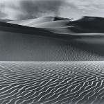 "Stillman Sawyer, ""Structured Sand""Gelatin Silver Photograph c.1972foapac"