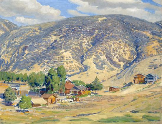 "Joseph Kleitsch, ""Laguna Beach 1926""oil on canvas, 1926foapac No. 1990.063"