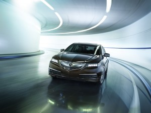 2016 Acura TLX.