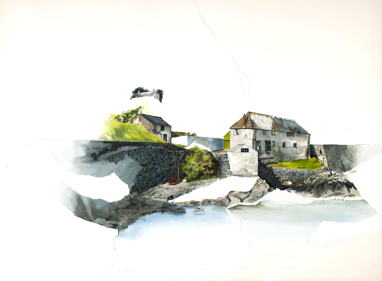 "Jacquie Moffett, ""Cornwall, England""watercolor, 1982foapac no. 2010.109"
