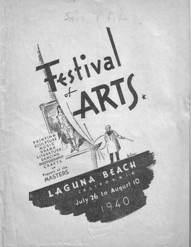 Festival of Arts 1940
