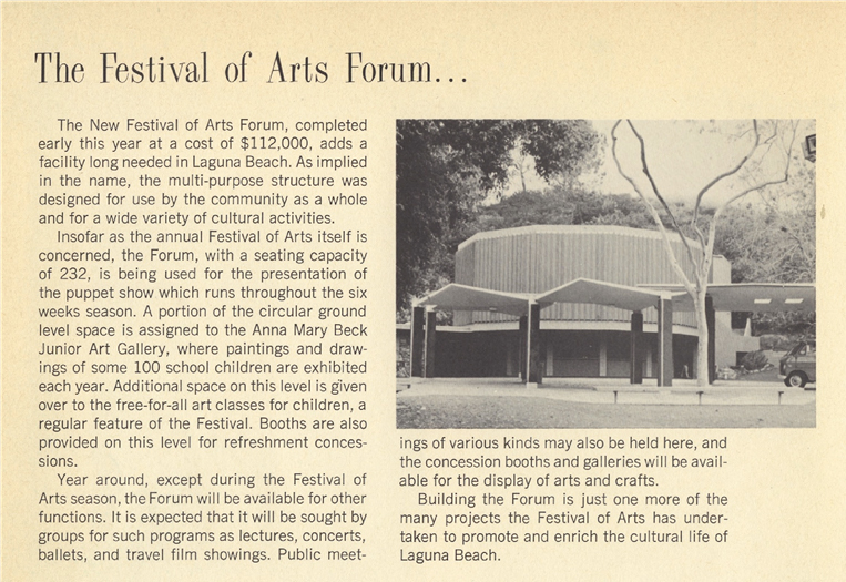 Festival of Arts 1969