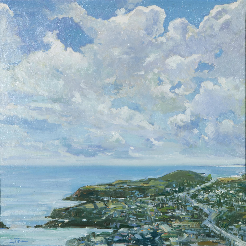"Ken Knutson, ""Laguna North Coast""oil on canvas, 1973foapac no. 2010.002"