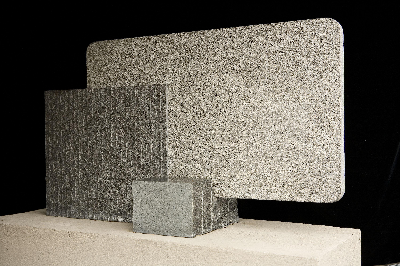 "David Sabaroff, ""Tablet""stone, 1990foapac no. 2010.042"